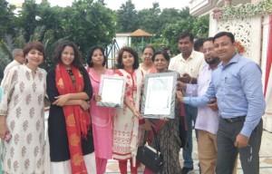 Aligarh Ratan Award 2017 to Prof. Zakia A Siddiqi